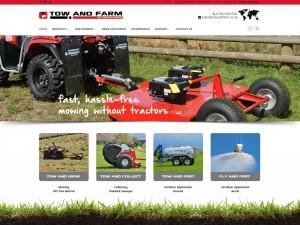 03 Tow   Farm   ATV Tow Behind Mowing   Fertiliser Application