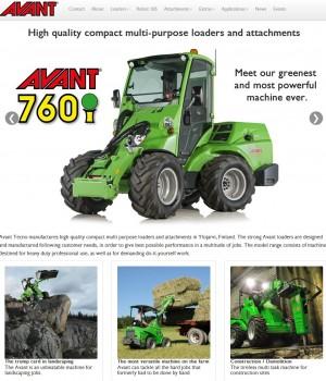 07 Avant Tecno UK   Multi purpose loaders and attachments