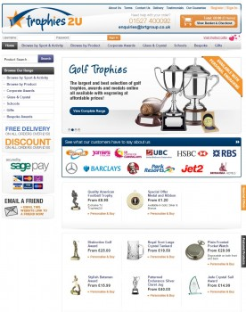 12 Trophies 2U   Football   Golf Trophies  Awards For Business   Sports