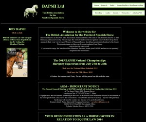 14 BAPSH Home Page