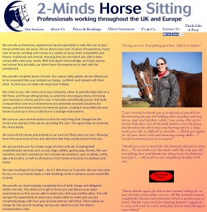 2 Minds HorseSitting