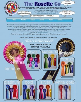 26 The Rosette Co offer a fast and reliable service for quality rosettes