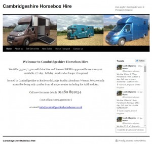 31 Cambridgeshire Horsebox Hire   East Anglia s Leading Horsebox   Transport Company
