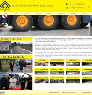 37 Cap Trac   Temporary Trackway Solutions   Plastic Temporary Roadway