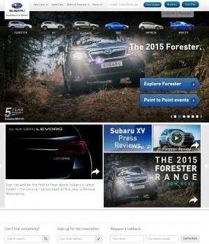 41 Home Page   Subaru Uk