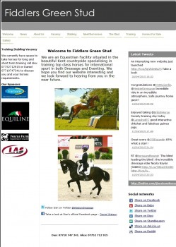 44 Fiddlers Green Stud   training   working pupils   dressage   Welcome