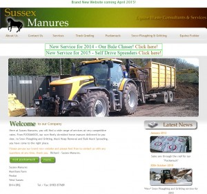 46 Sussex Manures   Equine Waste Consultants and Services in Worthing  West Sussex. Muck Heap