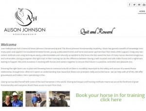 55 Alison Johnson Horsemanship   Horse Trainer