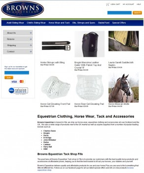 61 Horse Tack Equestrian Clothing Horse Riding Equipment Shop Fife