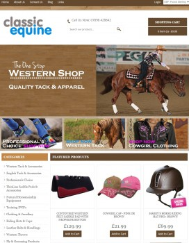 64 Classic Equine   Western Horse Riding Tack   Apparel