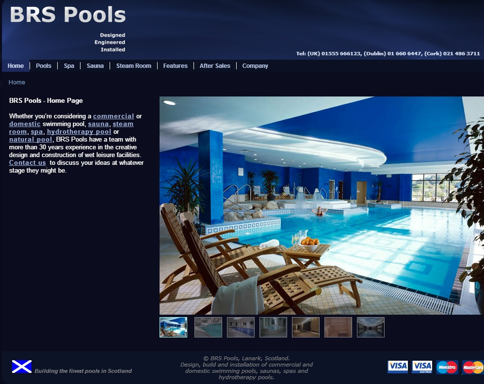 65 Brs Pools Swimming Pools Design Build Installation Lanark Scotland Ireland Equine Kit Horse