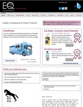 68 Equine Quality   Quality Horseboxes and Horse Products