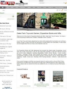 73 Equestrian Books and Dales Farm Toys and Games