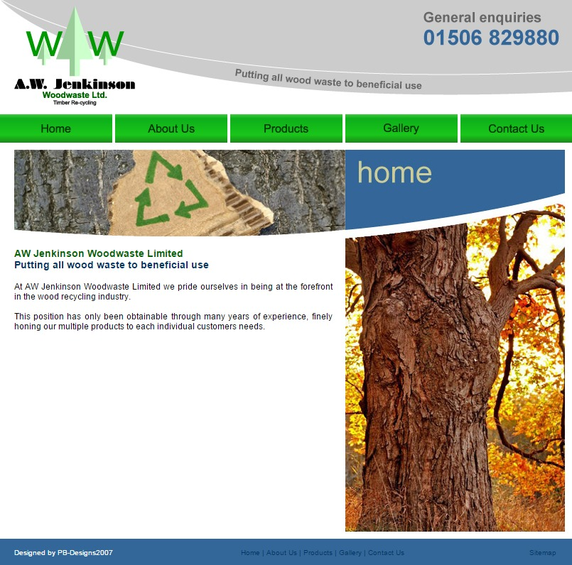 AW Jenkinson Woodwaste Ltd   Timber Recycling in Scotland