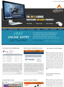 Affairs Group  Leading Equestrian Leading Equestrian Website Developers   Software Providers based in North Bedfordshire