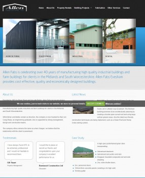Allen Fabrications   Farm Buildings  Agricultural Barns  Steel Fabrication and Industrial Buildings Worcestershire