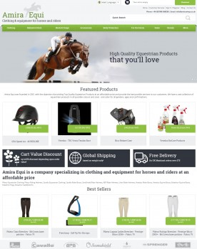 Amira Equi   Clothing and Equipment for horses   riders at affordable prices.