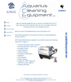 Aquarius   Your Local Provider of Cleaning Equipment