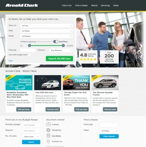 Arnold Clark   New   Used Cars