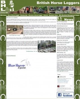 BHL British Horse Loggers  Woodland Management.