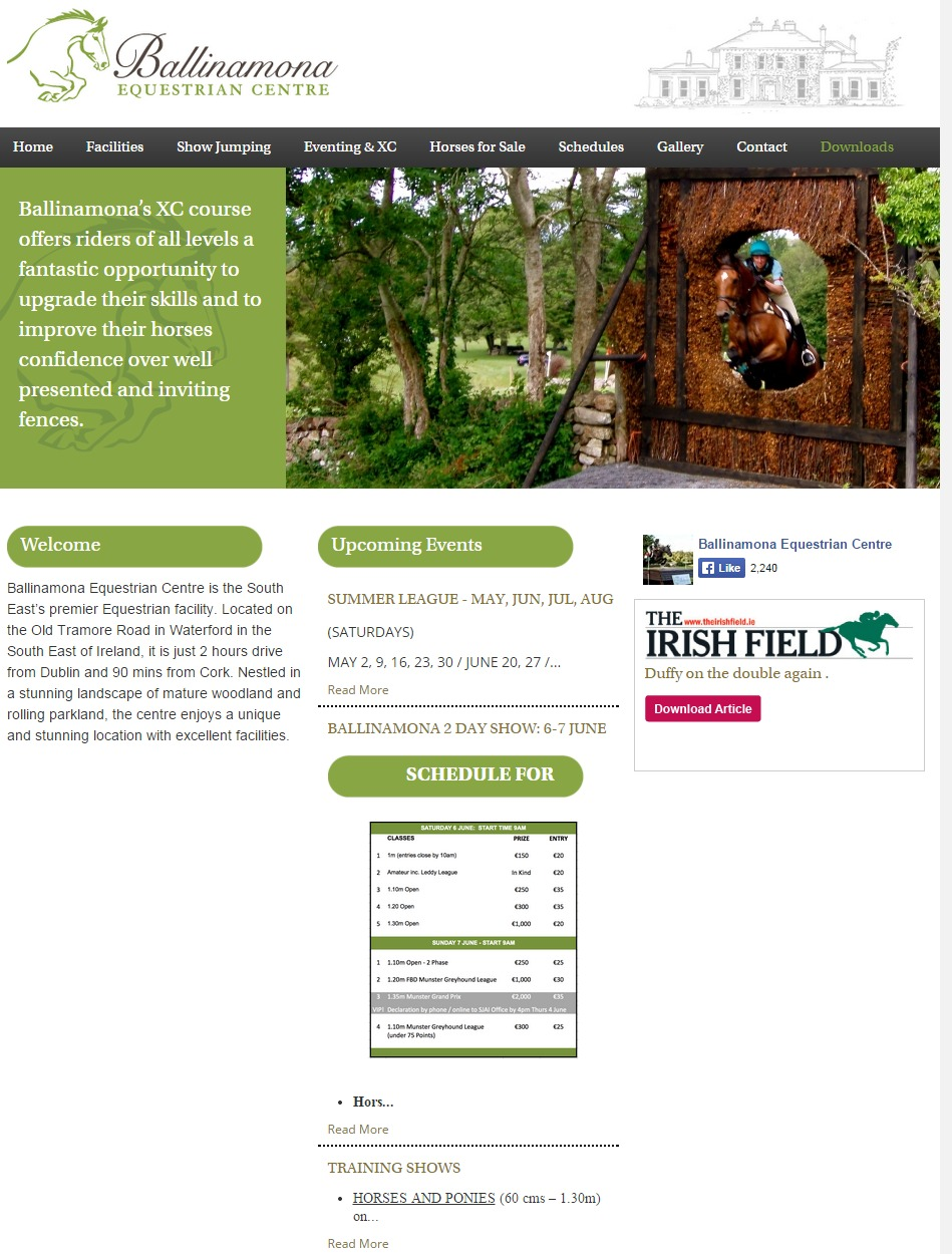 Crow Wood Equestrian Equine Kit Horse Directory Website