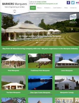 Barkers Marquee Manufacturers   Marquees For Sale