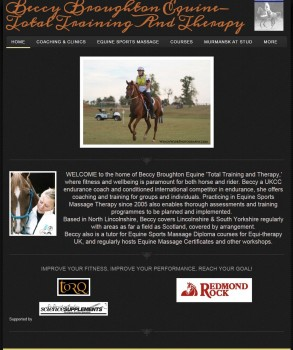 Beccy Broughton Equine  Total Training and Therapy