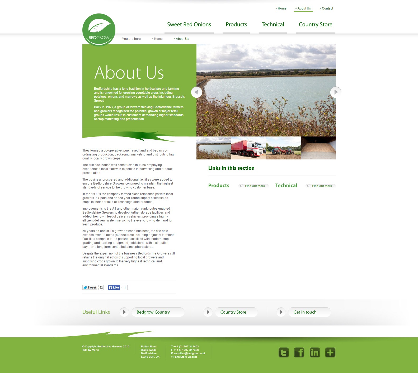 Bedfordshire Growers   About Us
