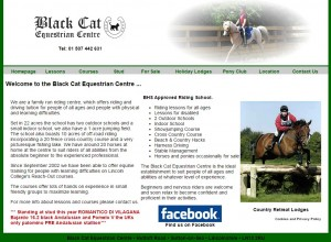 Black Cat Equestrian Centre near Sutton on Sea Lincolnshire 21 UK