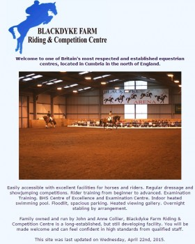 Blackdyke Farm   Riding and Competition12 Centre
