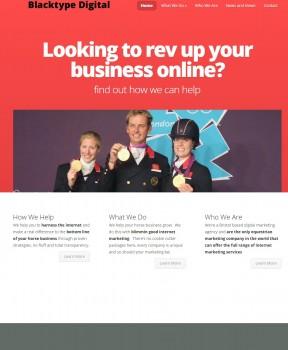 Blacktype Digital Ltd   Equestrian Internet Marketing