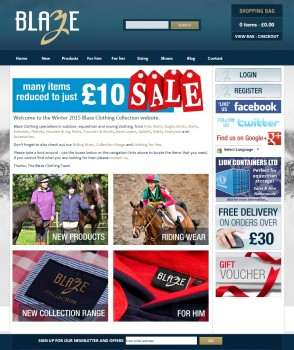 Blaze Clothing  The Store for all your equestrian and outdoor clothing needs