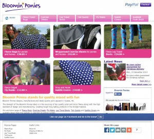 Bloomin Ponies   Fleece Rugs  Fly Masks  Travel Boots and Saddle Covers