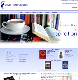 Blue Heron Books   Factual Books and DVDs
