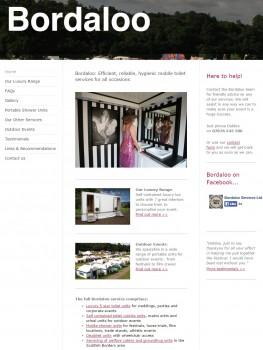 Bordaloo Mobile Toilets Luxury Loo Range