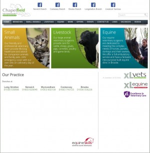 Chapelfield Veterinary Partnership   Home