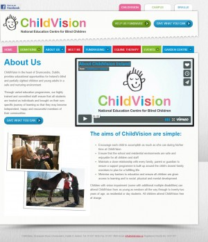 ChildVision   ChildVision Ireland s Only Educational Centre for Blind Children  Ireland.