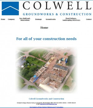 Colwell Groundworks and Constuction   Home