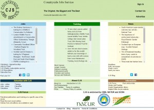 Countryside Jobs Service   home page