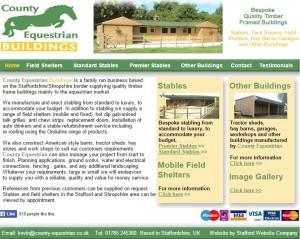 County Equestrian Buildings  Staffordshire Shropshire
