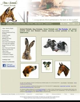 Dog Portraits   Animal Portraits   Horse Portraits and Pet Portraits by professional artist Ann Sewa