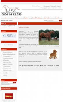 Equine Reproduction Supplies Ltd   Welcome to ERS LTD