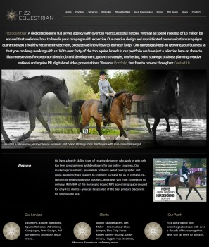 Fizz Equestrian   Equestrian Website Design  Equestrian Marketing   Equestrian PR   Equestrian Website Creation   Equestrian Website Design   Web Design   Marketing   Public Relations