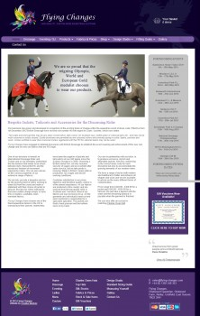 Flying Changes   Custom Made Equestrian Clothing