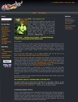 High visibility product rider  horse  pet   v bandz.co.uk