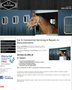 Home   Horsebox servicing and repairs   Gloucestershire   A S Motors