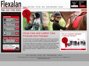 Horse Care and Leather Care Products from Flexalan