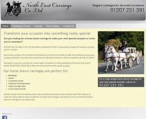 Horse Drawn Carriage   United Kingdom   North East Carriage Co