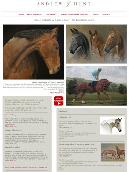 Horse Portraits by Andrew Hunt   UK Equestrian Artist