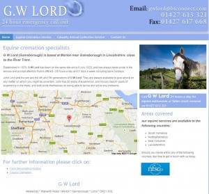 Horse Slaughterers   Fallen Stock Removal   Gainsborough  Lincolnshire   G.W Lord